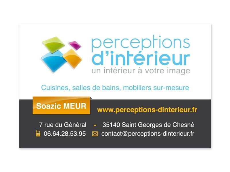 Carte De Visite Decoration D Interieur